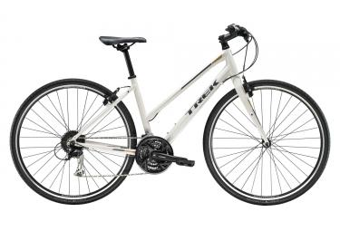Velo hybride femme trek 2019 fx 3 shimano 9v blanc m 164 177 cm