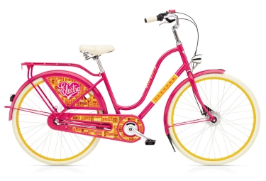 Velo de ville femme electra amsterdam fashion 7i ladies shimano nexus 7v rose jaune
