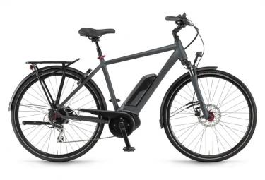 Winora Sinus Tria 8 Hybrid Urban Bike Shimano Acera 8S Dullgrey