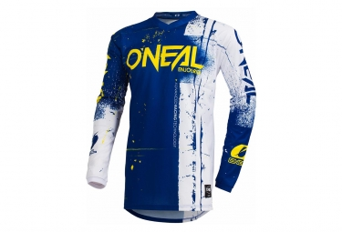 O'Neal Long Sleeves Jersey Element Shred Blue