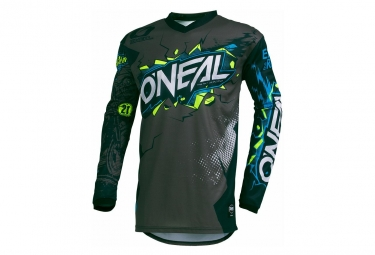O'Neal Long Sleeves Jersey Element Youth Villain Gris