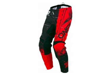 Oneal element pants shred red 34 50