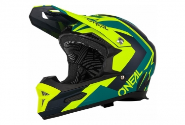 O'Neal Helmet Fury Rl Hybrid Neon Yellow
