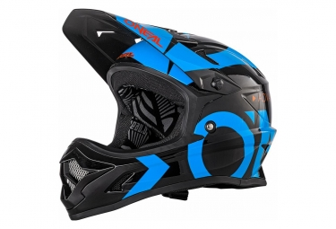O'Neal Helmet Backflip Rl2 Slick Black Blue