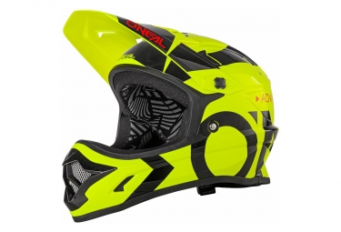 O'Neal Helmet Backflip Rl2 Slick Neon Yellow Black