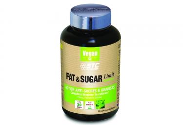 Complément Alimentaire STC Nutrition - Fat & Sugar Limit Vegan - 90 gélules