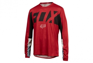 Fox Indicator Drafter Long Sleeves Jersey Rot