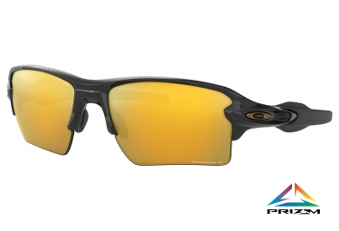 Paire de lunettes oakley flak 2 0 xl midnight collection polished black prizm 24k polarized oo9188 9559