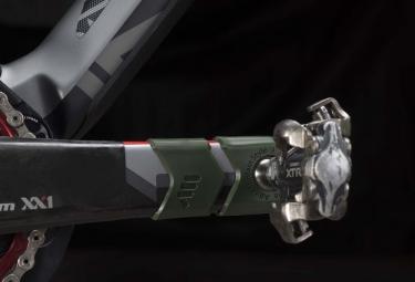 Protège-Manivelle All Mountain Style Crank Defender Vert