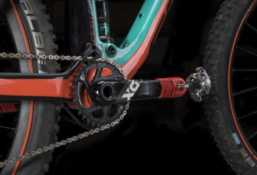 Protège-Manivelle All Mountain Style Crank Defender Rouge