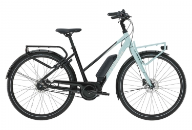 Trek UM2+ Stagge Hybrid Ubran Bike 2019 Shimano Nexus 7S Black / Nimbus Blue