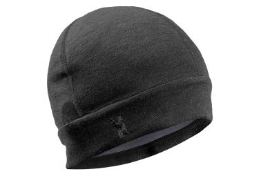 Bonnet Chrome Merino Noir