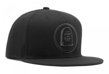 Casquette Chrome Baseball What A Ride Noir