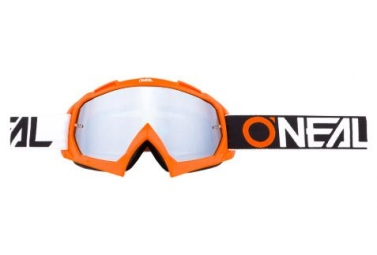 Masque O´neal B-10 Pixel TwoFace Orange / Mirror Silver