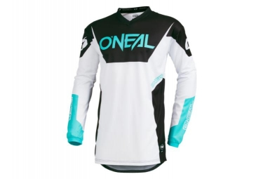 Maillot Manches Longues O'Neal Element Racewear Blanc