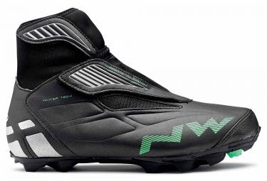 Chaussures vtt hiver northwave husky noir vert 41