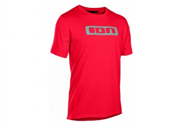 T-Shirt Manches Courtes ION Seek DR Rouge