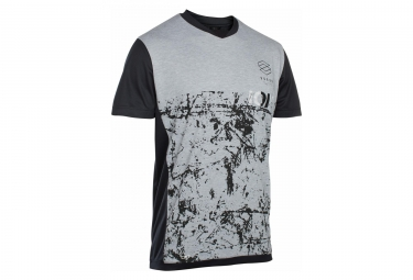 T-Shirt Manches Courtes ION Scrub Gris / Noir