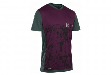 ION Scrub AMP T-Shirt Short Sleeves Purple