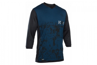 ION Scrub AMP T-Shirt 3/4 Sleeves Ocean Blue
