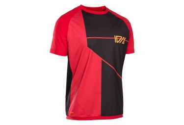 T-Shirt Manches Courtes ION Traze Cblock Rouge