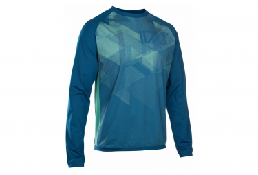 ION Traze AMP T-Shirt Long Sleeves Ocean Blue