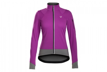 Women Jacket Bontrager Meraj S1 Softshell Purple