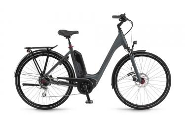 Bicicleta Ciudad Mujer Winora Sinus Tria 8 Gris