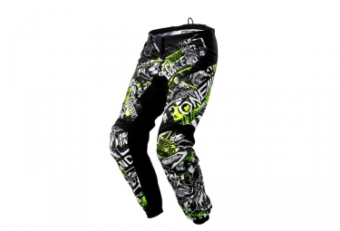 Oneal element youth pants attack black hi viz 26 12 14