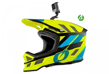 Casque Intégral O'Neal Blade Ipx Synapse Bleu / Jaune Fluo