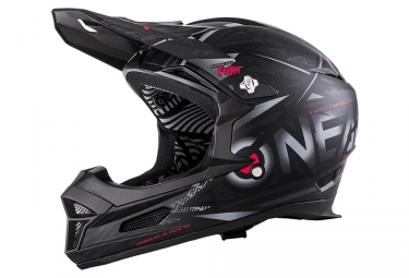 Casque integral o neal fury rl synthy noir rouge xs 53 54 cm