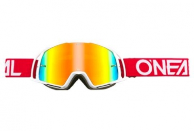 O'Neal B-20 Goggle Radium Red / White