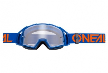 Masque O'Neal B-20 Transparent Bleu / Orange