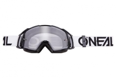 O'Neal B-20 Goggle Flat Clear Black / White