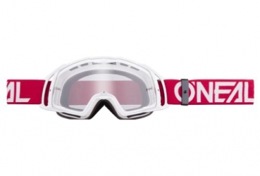 O'Neal B-20 Goggle Flat Clear Red /White