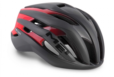 Casque Met Trenta Noir Matt Rouge Brillant