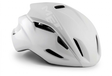Met Manta Aero Casco Blanco Mate Brillante