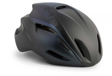 Met Manta Aero Helmet Black Iridescent Matt