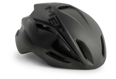 Met Manta Aero Casco Negro Mate Brillante