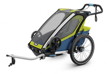 Thule Chariot Sport 1 Kids Trailer Blue/Yellow
