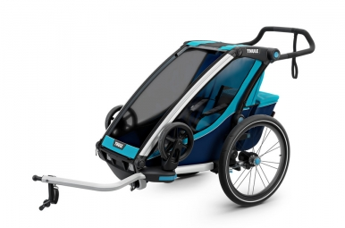 Thule Chariot Cross 1 Kids Trailer Blue