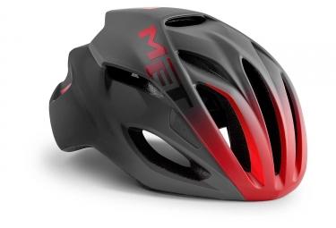 Met Rivale Helmet Black Shaded Red Matt