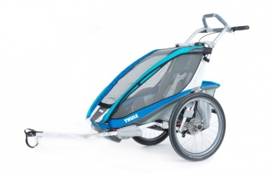 Thule Chariot Cross 1 Kids Trailer Blue