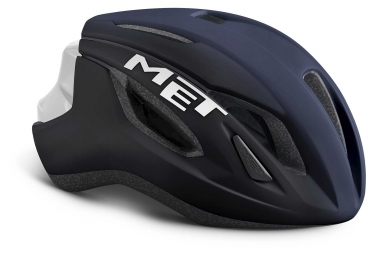 Met Strale Aero Helmet Shaded Deep Blue White Matt