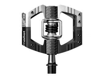 Crankbrothers Mallet Enduro LS Pedals Silver/Black