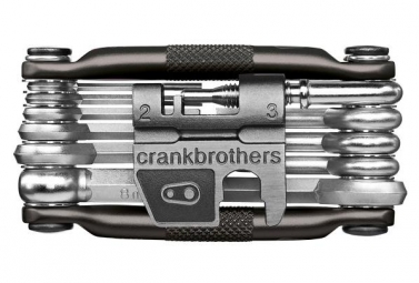 Crankbrothers Multi-Outils M17 17 Fonctions Noir