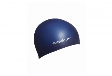 Speedo Flat Silicone Swimcaps Blue Navy