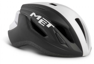 Met Strale Aero Helmet Black White Panel Matt