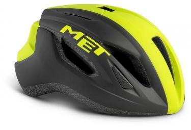 Met Strale Aero Helmet Black Neon Yellow Matt