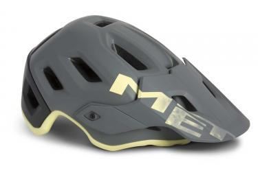 Met Roam All Mountain Helmet Grey Tender Yellow Matt